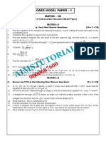 Maths1b Model Papers (1) 2020