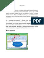 Barra de Excel