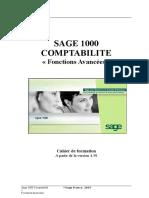 Sage 1000 Comptabilité - Fonctions avancées - Cahier de form.doc