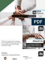 Tech Simians - Founders Profile