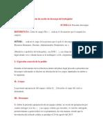 Modelo de Escrito de Descargo Del Trabajador