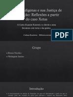 Cultura Brasileira – Biblioteconomia