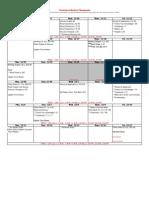 Practicum 3rd Six Weeks Calendar