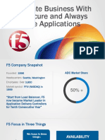 F5 PPT Solution