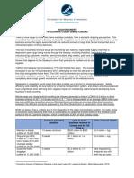 Chamber of Marine Commerce - water level analysis