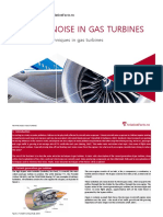Noise Reduction in Gas Turbines Fact Sheet