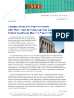 Changes Ahead for Property Owners