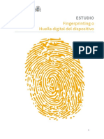 Estudio Fingerprinting Huella Digital