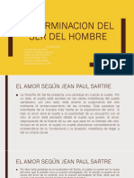 Determinacion Del Ser Del Hombre
