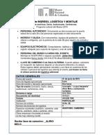 Formulario importante de INGRESO LOGÍSTICA Y MONTAJE Programa Cultural Museo - Nancy Avilán 2018.docx
