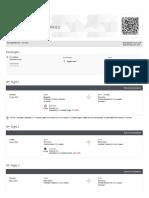 Air Canada - Booking Details