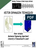 Vector Expansion Technique