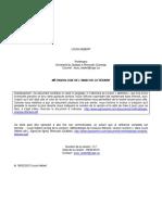 Methodologie Analyse Litteraire