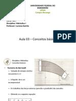 Aula_03- Conceitos Basicos - Hidraulica