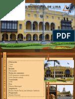 Arquitectura Palacio Municipal de Lima