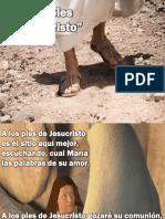 A Los Pies de Jesucristo