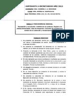 Providencia Inicial TP