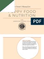 Puppy Nutrition