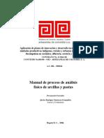 Manual de proceso de análisis de arcillas y pastas.pdf