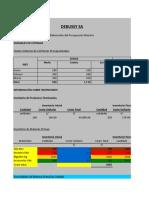 Presupuesto Maestro Version 2
