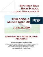 Alumni Golf Outing Booklet