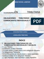 007_obligaciones Tributarias de Los Comerciantes Individuales y Sociales