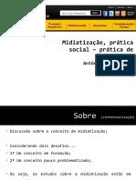 Midiatização, Prática Social – Prática de Sentido de Antônio Fausto Neto