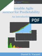 Daniel S. Vacanti Actionable Agile Metrics for P