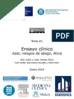 El Ensayo Clinico
