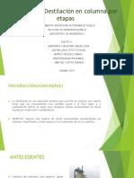 Práctica 2 - Destilación - Lab 4