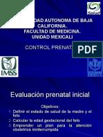 3.- Control Prenatal