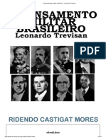 O Pensamento Militar Brasileiro - Leonardo Trevisan