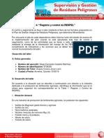 Taller 4 Registro y Control de RESPEL Docx