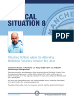 Pep Guardiola Tactics Options When Attacking Mid Receives Between the Lines