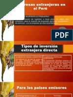 Empresas Extranjeras en El Perú