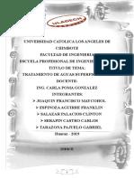 Trabajo de Aguas Superficiales - Tarazona Pajuelo Gabriel