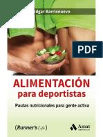 Alimentación Para Deportistas_ Pautas Nutricionales Para Gente Activa - Edgar Barrionuevo