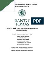 Tarea-Análisis de Caso-Desarrollo Examinación Nacional - Santo Tomás