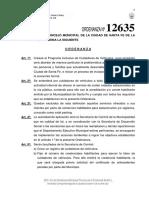 Ordenanza 12635  - Cuidacoches
