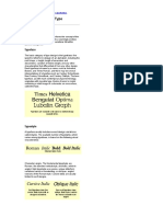 Type Basics Design