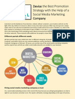 Devise the Best Promotion Strategy With the Help of a Social Media Marketing Company
