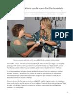27-06-2019 Sonora un paso adelante con la nueva Cartilla de cuidado médico digital-Opinión Sonora