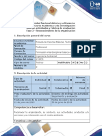 Guía de Actividades y Rúbrica de Evaluación - Fase 2 - Reconocimiento de La Organización