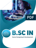 b.sc in Game Designing