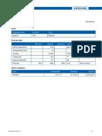 Dimensionamiento Gas Natural - 6.6 Bar