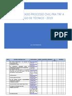 Sistematizado Processo Civil Trf4