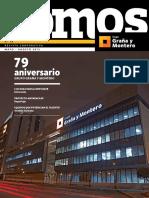 Slidex.tips n 72 Revista Corporativa Aniversario Grupo Graa y Montero Luis Diaz Imiela Gentimur Entrevista Reportaje Gestion Humana