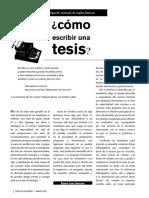 Cómo escribir una Tesis - UNAM.pdf