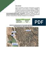 DATOS CLIMATICOS SENAMHI