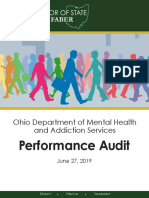 Ohio Department of Mental Health and Addiction Services 19 Performance Franklin